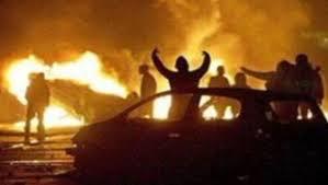 Ce cliché diffusé sur TF1 News se rapporte en réalité aux émeutes de 2005
