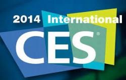 Le logo du CES 2014, qui se tiendra à Las Vegas, USA, du 7 au 11 janvier 2014