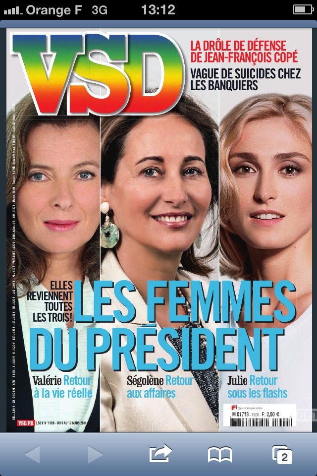 Les femmes dans les médias. L'exemple du VSD.
