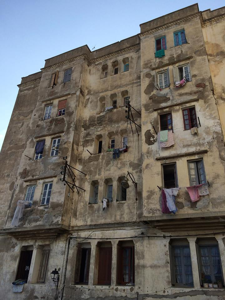 Alger, la Casbah . Photo : F.Atig,  Intégrales Productions