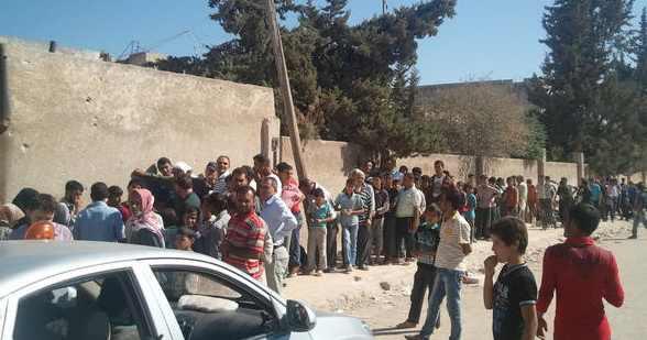 Azaz, ville frontalière du nord de la Syrie, en octobre 2012. Image : Intégrales Productions.