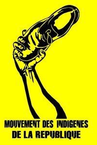 """Symbole du Mouvement des Indigènes de la République, apparus en 2005 en France ; il se définit comme un mouvement de protestation antiraciste et se déclarant « antisioniste"""" »."""