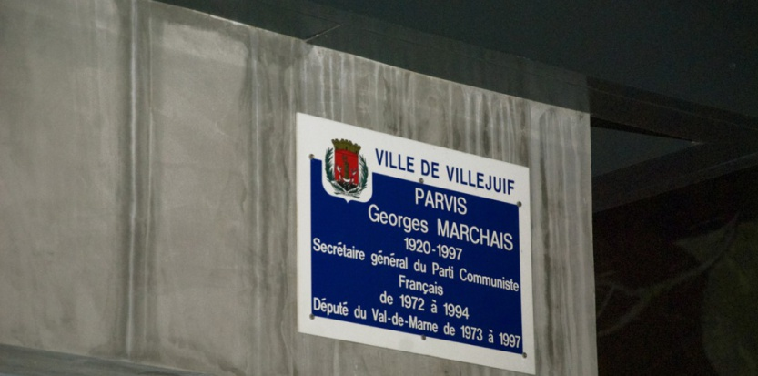 France: Georges Marchais square renamed Georges Mathé square in Villejuif