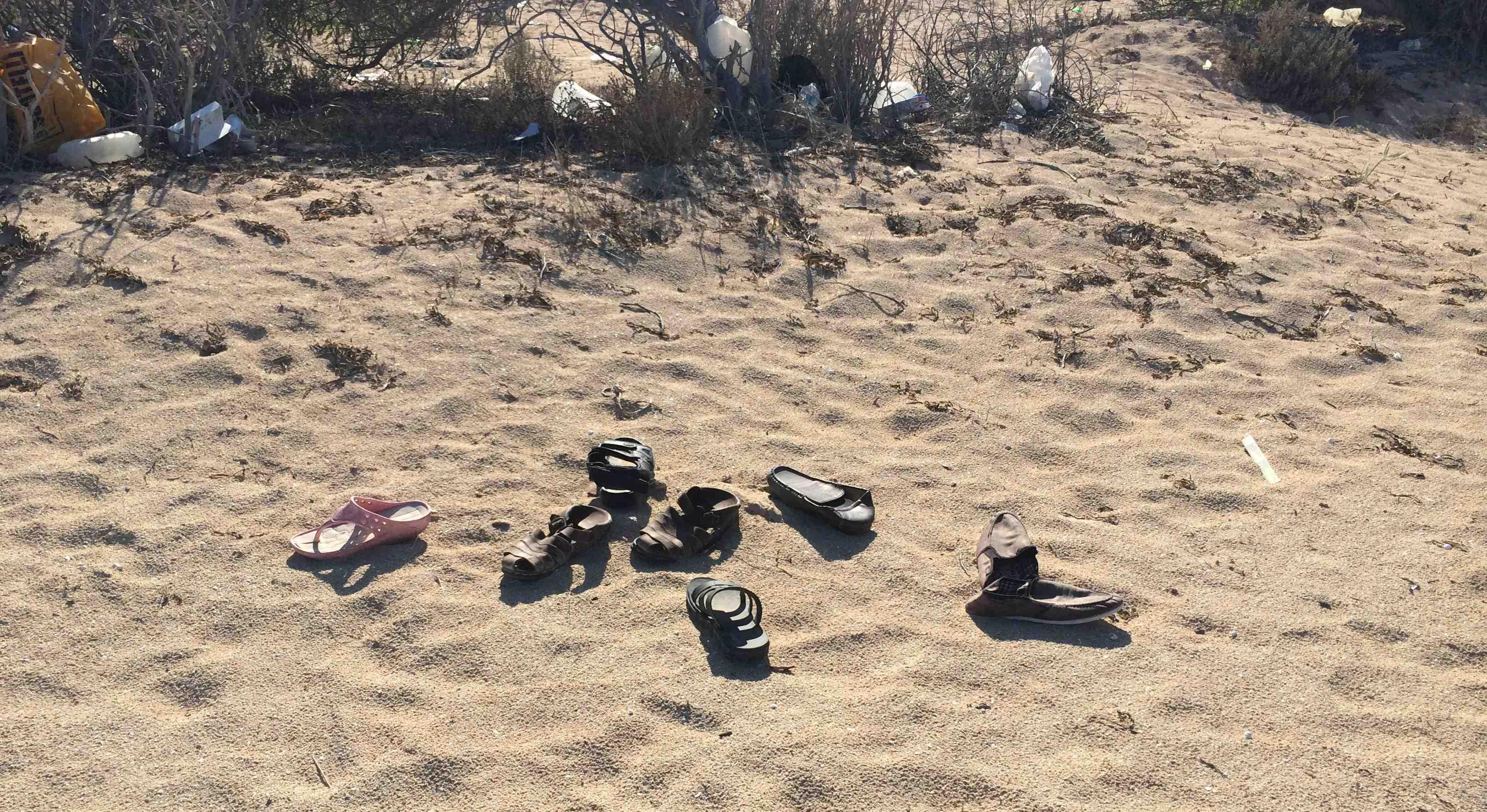 Sur une plage de l'ouest libyen. Photo : F.A (Intégrales Mag)