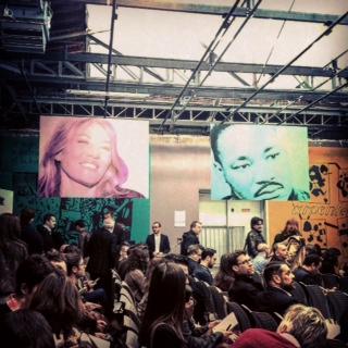 France Télévisionschoisit le Palais de Tokyo pour  présenter Zoom à la presse. Photo : CS, Intégrales Mag