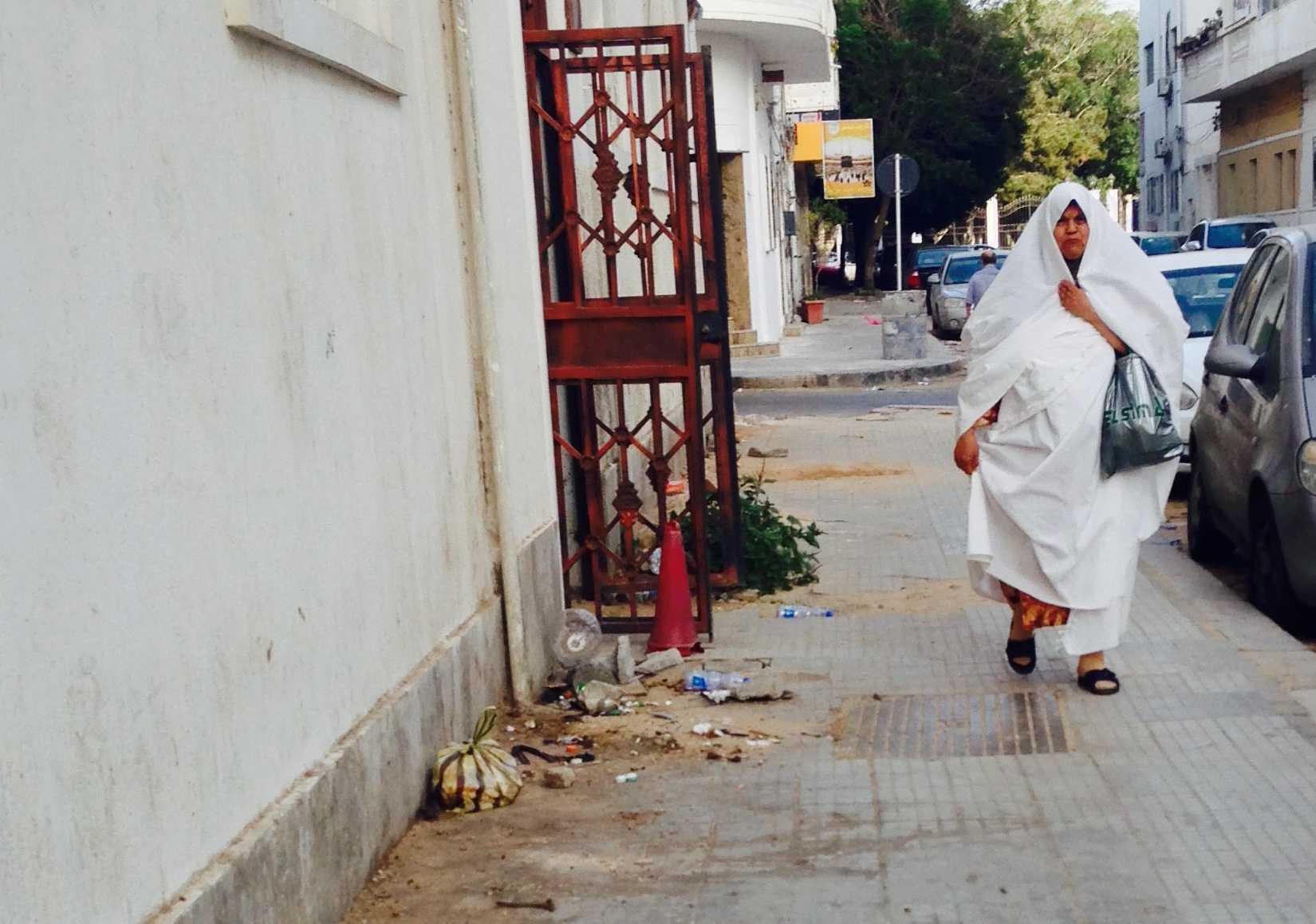 Cette semaine dans une ruelle du quartier de Dahra, à Tripoli. Image : F.A. / Intégrales Mag