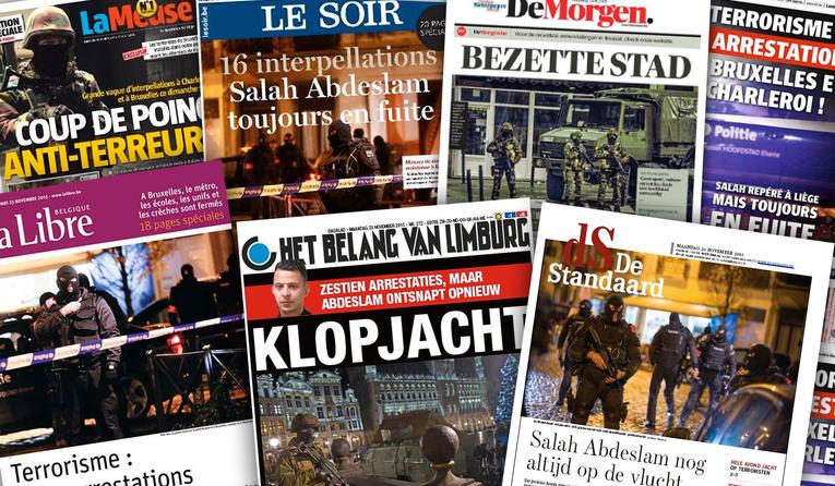 belgique-unes