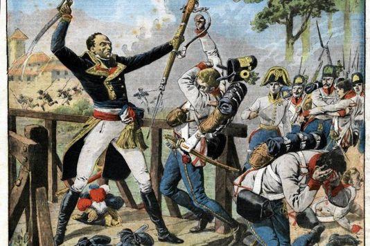 Le général Alexandre Davy de La Pailleterie, dit le général Dumas, est le premier général ayant des origines afro-antillaises de l'armée française. Il est le père de l'écrivain Alexandre Dumas, et le grand-père de l'écrivain Alexandre Dumas fils.