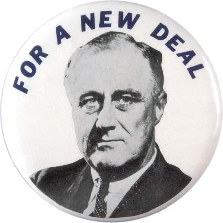 Affiche de campagne politique de l'ancien président américain Franklin Delano Roosevelt, à la fin des années 1920