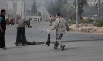 """capture d'écran du documentaire """"Syrie : les enfants de la guerre"""" de Farouk Atig et Ahmed Deeb, réalisé en 2016."""