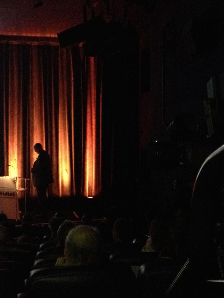 Rémy Pflimlin à l'occasion d'une conférence de presse de France Télévisions, photo CS, Intégrales.