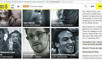 """""""10 jours pour signer"""" soutient 10 cas emblématiques des entraves à la liberté d'expression."""