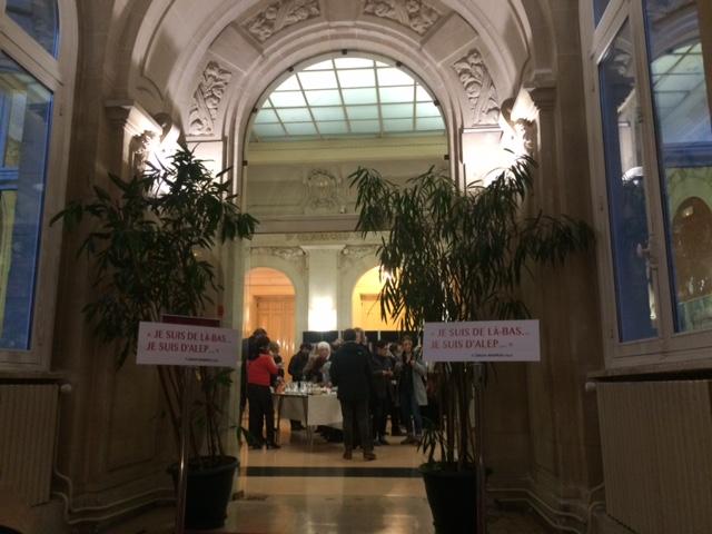 L'exposition se tient jusqu'au 29 mars 2017 à la mairie du 20 è:e arrondissement de Paris